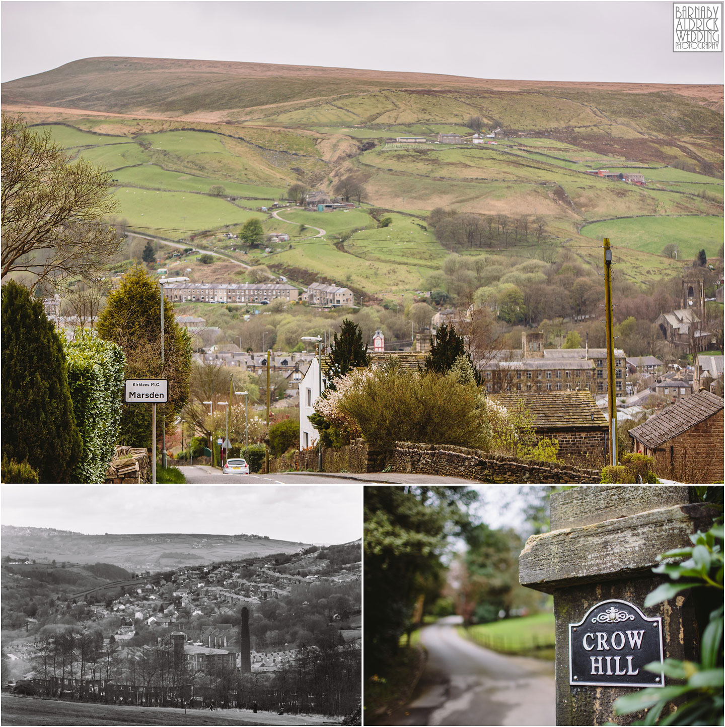 Crow Hill in Marsden in South Yorkshire, by Photographer Barnaby Aldrick