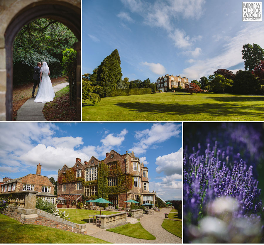Wedding Flowers Harrogate: Wedding Photography At Goldsborough Hall, Yorkshire