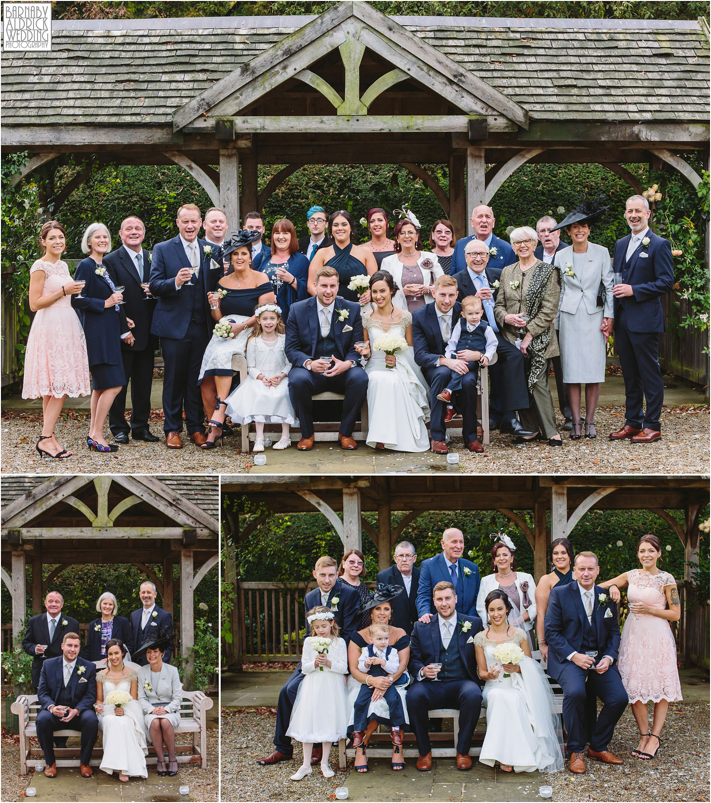 Wedding Photography At Middleton Lodge Near Richmond In