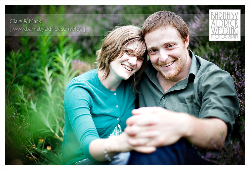 Clare & Mark's Pre wedding photography [by Barnaby Aldrick 2009]