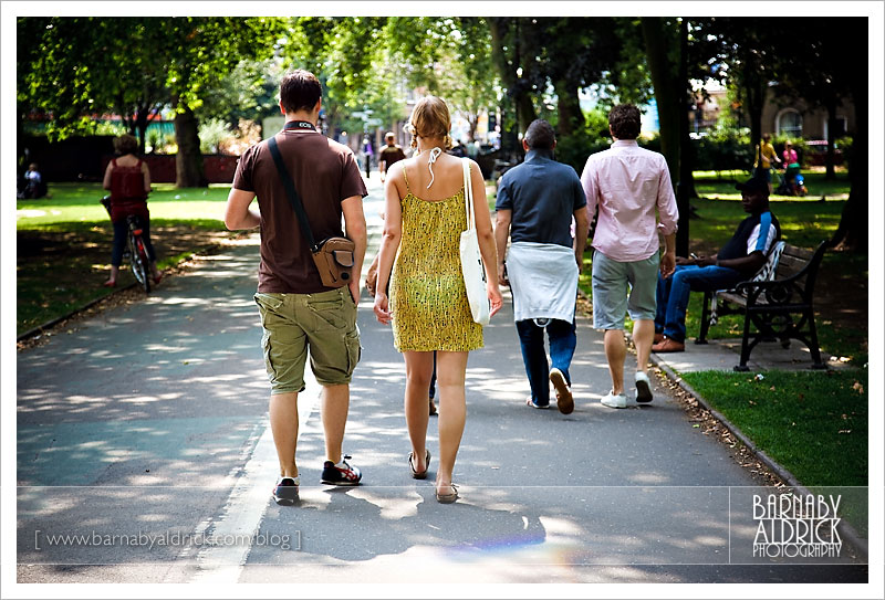 Rich & Ann-Sophie in London [© Barnaby Aldrick Photography 2009]