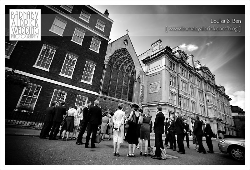 Louisa & Ben Wedding Photography by Barnaby Aldrick © 2009