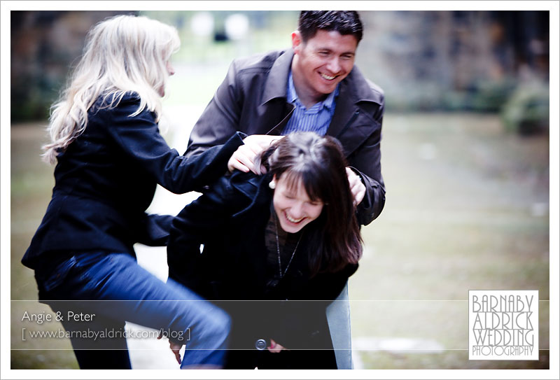 Angie & Pete's Pre-Wedding Photography - Leeds Wedding Photograpy by Barnaby Aldrick
