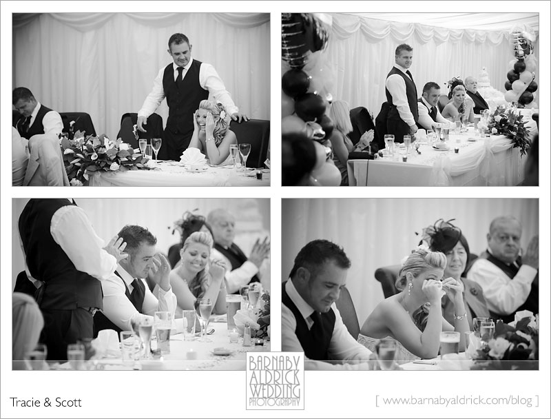 Tracie & Scott Woodlands Hotel Leeds Yorkshire Wedding photography by Barnaby Aldrick