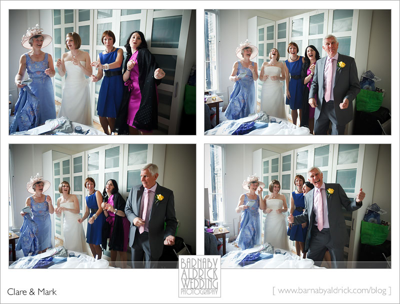 Clare & Mark's London Wedding by Barnaby Aldrick Wedding Photography
