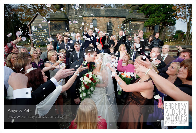 Angie & Pete's Wedding Photography - Leeds Wedding Photograpy by Barnaby Aldrick