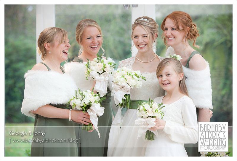Georgie & Jonny's Hazlewood Castle Wedding Photography by Barnaby Aldrick