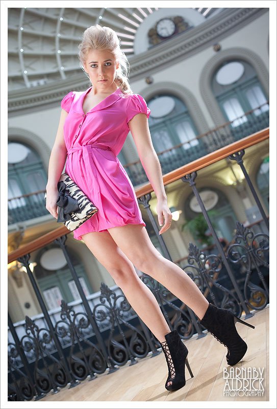 Leeds Guide Magazine Corn Exchange Spring Fashion Shoot by Barnaby Aldrick
