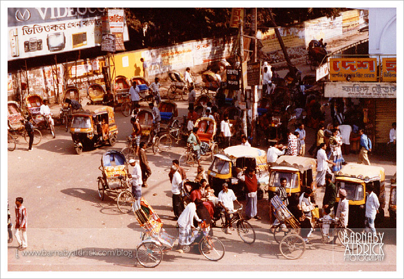 Rickshaws, baby taxis and the masses