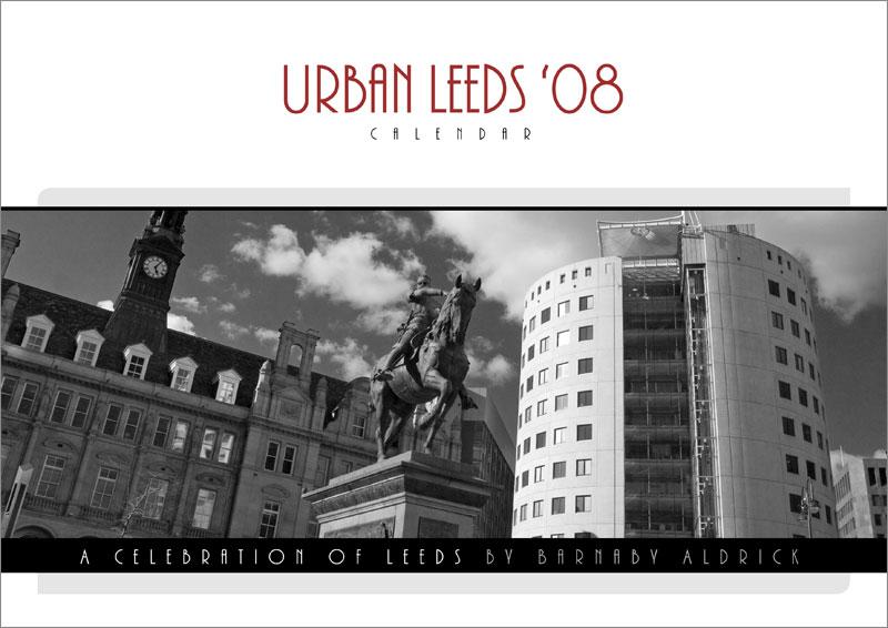 Urban Leeds 08 Calendar by Barnaby Aldrick