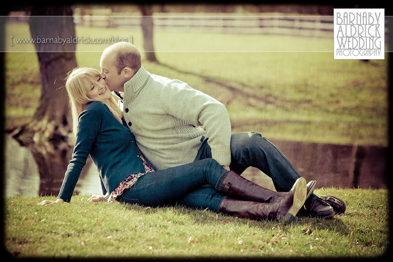 Alice & Andy's Wetherby Pre-wedding Photography by Leeds Wedding Photographer Barnaby Aldrick