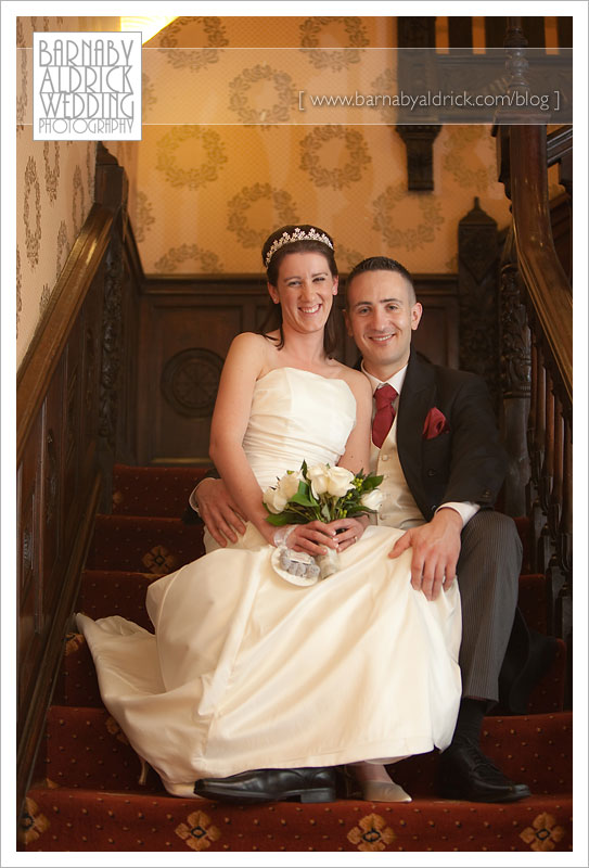 Helen & Richard @ Fairfield Manor - Wedding Photography by Barnaby Aldrick