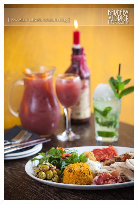 Sandinista Food Photography by Leeds Photographer Barnaby Aldrick