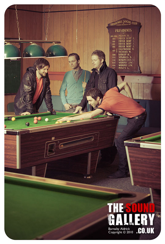 Leeds Guide cover shoot // The Sunshine Underground • By Barnaby Aldrick