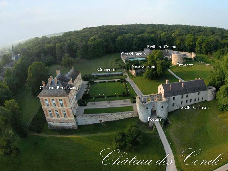 Château des Condé, Vallery, France
