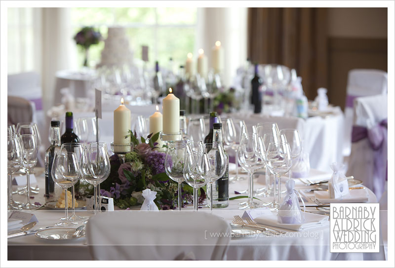 The Wedding Breakfast Room Looked Fab With Fun Table Decorations