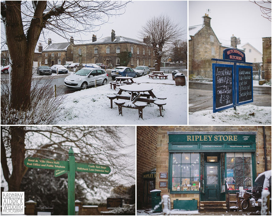 Ripley Castle Snow Wedding [by Barnaby Aldrick Wedding Photography] 003.jpg