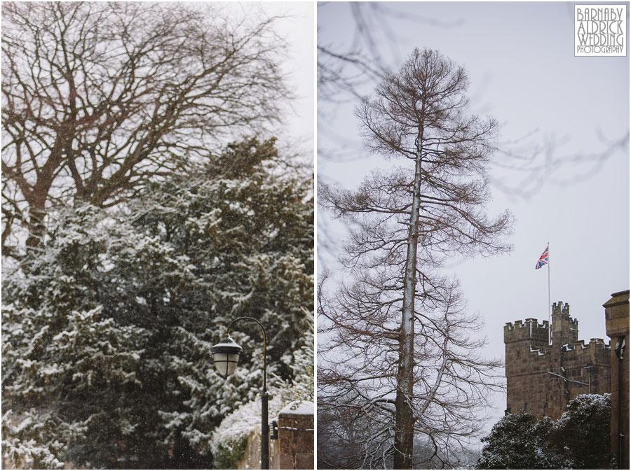 Ripley Castle Snow Wedding [by Barnaby Aldrick Wedding Photography] 004.jpg