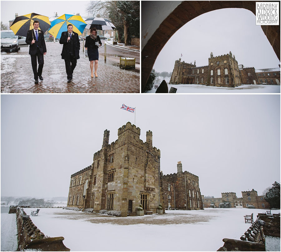 Ripley Castle Snow Wedding [by Barnaby Aldrick Wedding Photography] 021.jpg