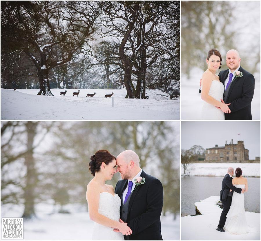 Ripley Castle Snow Wedding [by Barnaby Aldrick Wedding Photography] 045.jpg