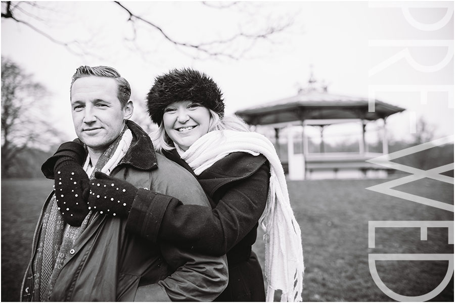Roundhay Park Pre-wedding Photography,