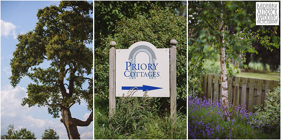 Priory Cottages Wetherby Wedding Photography, The Priory near Wetherby, Yorkshire Wedding Photographer Barnaby Aldrick
