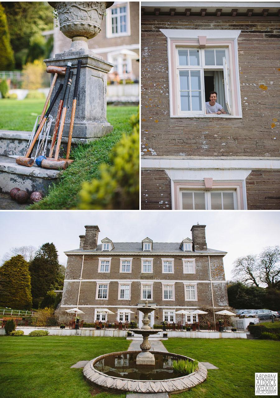 Wedding Photography at Buckland Tout Saints South Devon, Devon Wedding Photographer Barnaby Aldrick, Dartmouth Wedding; Kingswear Devon Wedding, 017