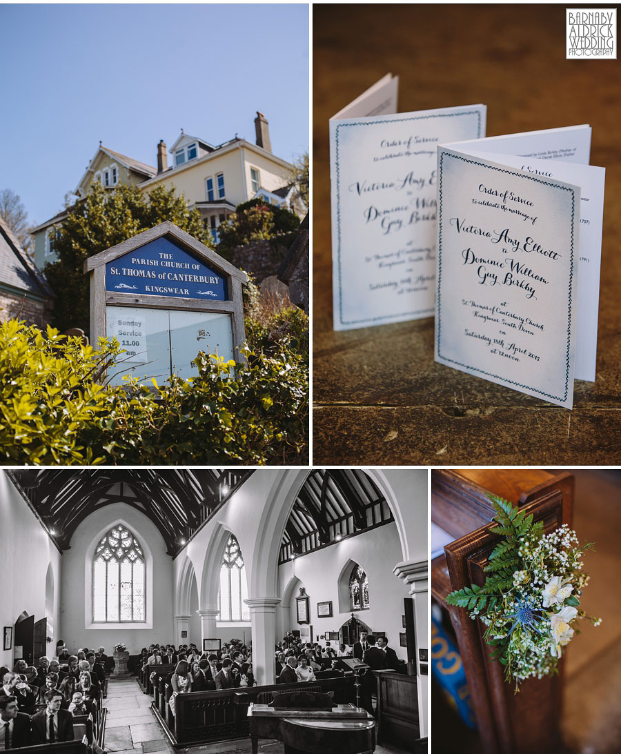 Wedding Photography at Buckland Tout Saints South Devon, Devon Wedding Photographer Barnaby Aldrick, Dartmouth Wedding; Kingswear Devon Wedding, 035