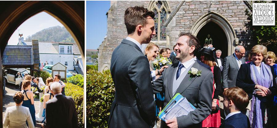 Wedding Photography at Buckland Tout Saints South Devon, Devon Wedding Photographer Barnaby Aldrick, Dartmouth Wedding; Kingswear Devon Wedding, 055
