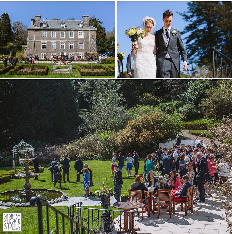 Wedding Photography at Buckland Tout Saints South Devon, Devon Wedding Photographer Barnaby Aldrick, Dartmouth Wedding; Kingswear Devon Wedding, 062