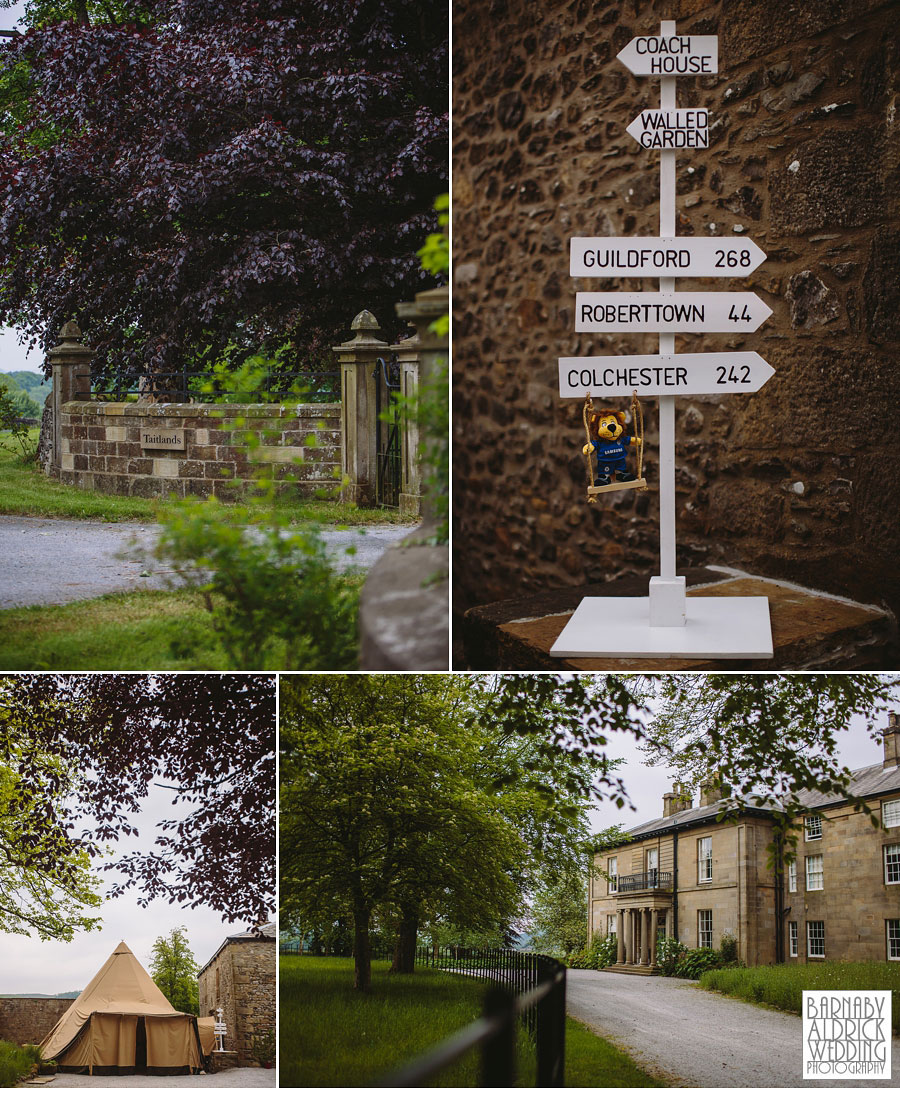 Taitlands Wedding Photography near Settle in The Yorkshire Dales 005