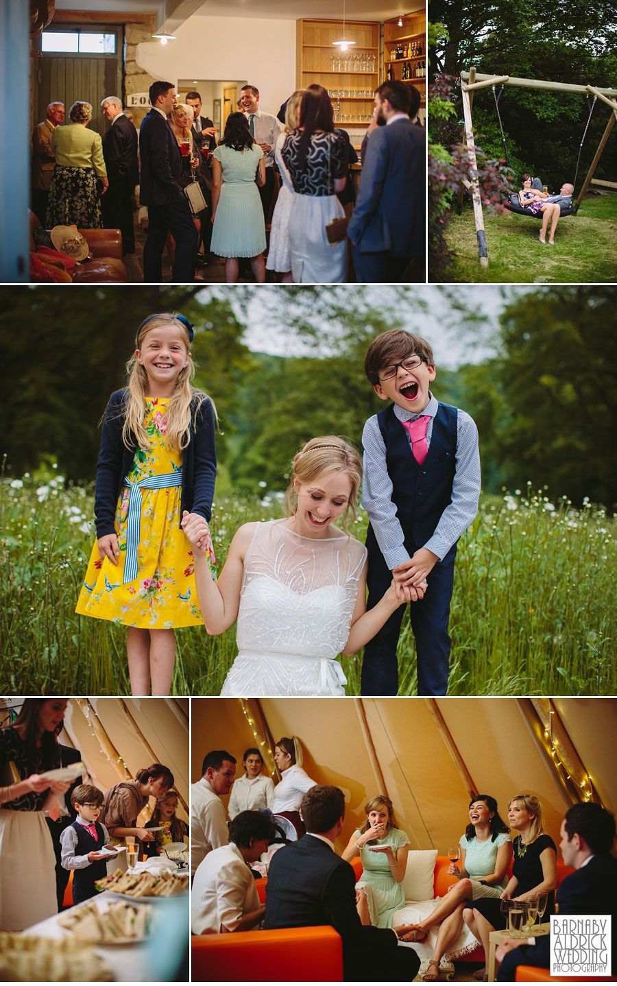 Taitlands Wedding Photography near Settle in The Yorkshire Dales 062