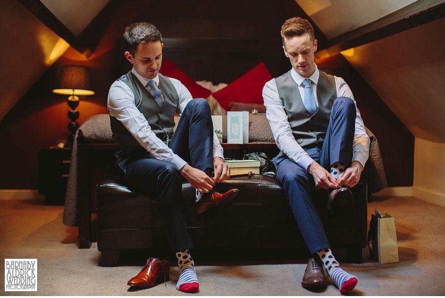Yorebridge House Gay Wedding Photography by Yorkshire Wedding Photographer Barnaby Aldrick 012