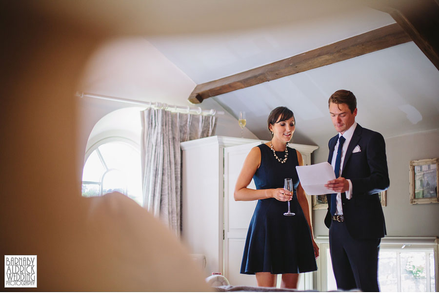 Yorebridge House Gay Wedding Photography by Yorkshire Wedding Photographer Barnaby Aldrick 015