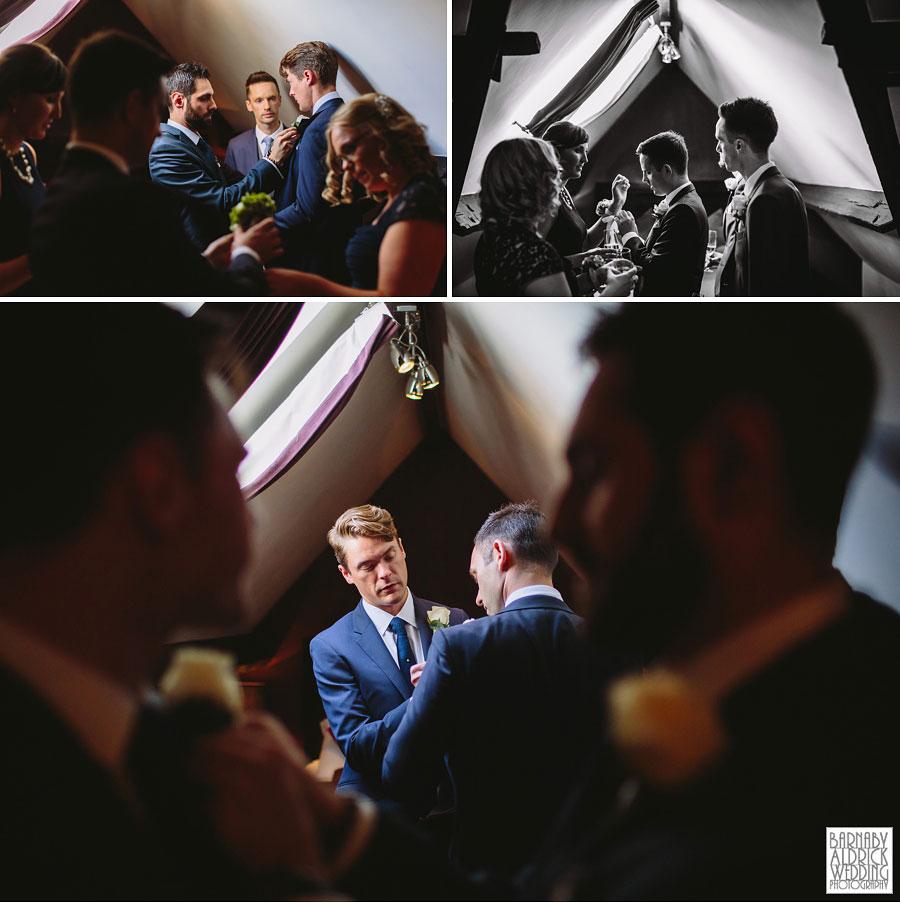 Yorebridge House Gay Wedding Photography by Yorkshire Wedding Photographer Barnaby Aldrick 021