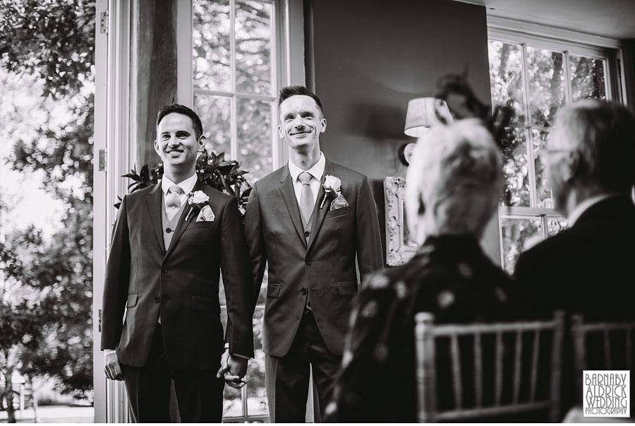 Yorebridge House Gay Wedding Photography by Yorkshire Wedding Photographer Barnaby Aldrick 035