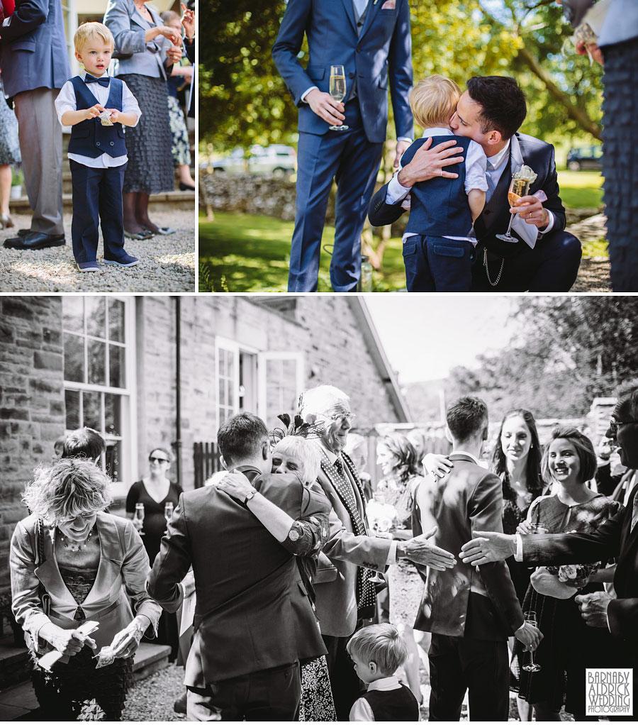 Yorebridge House Gay Wedding Photography by Yorkshire Wedding Photographer Barnaby Aldrick 045