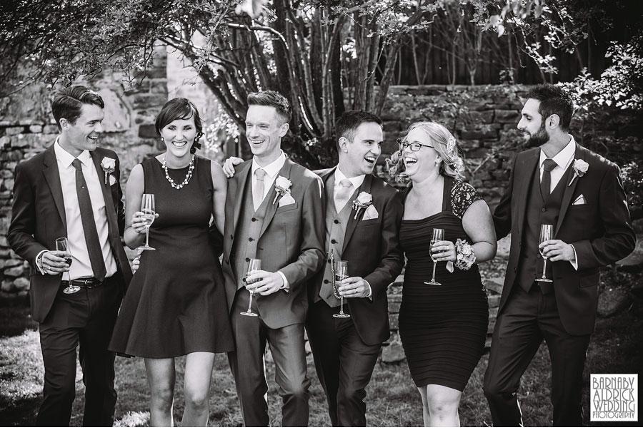 Yorebridge House Gay Wedding Photography by Yorkshire Wedding Photographer Barnaby Aldrick 057