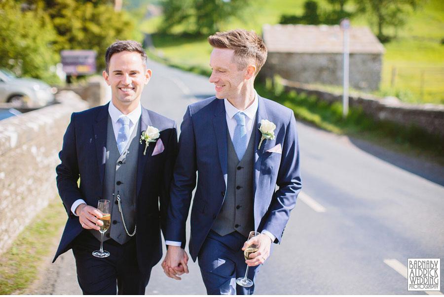 Yorebridge House Gay Wedding Photography by Yorkshire Wedding Photographer Barnaby Aldrick 058