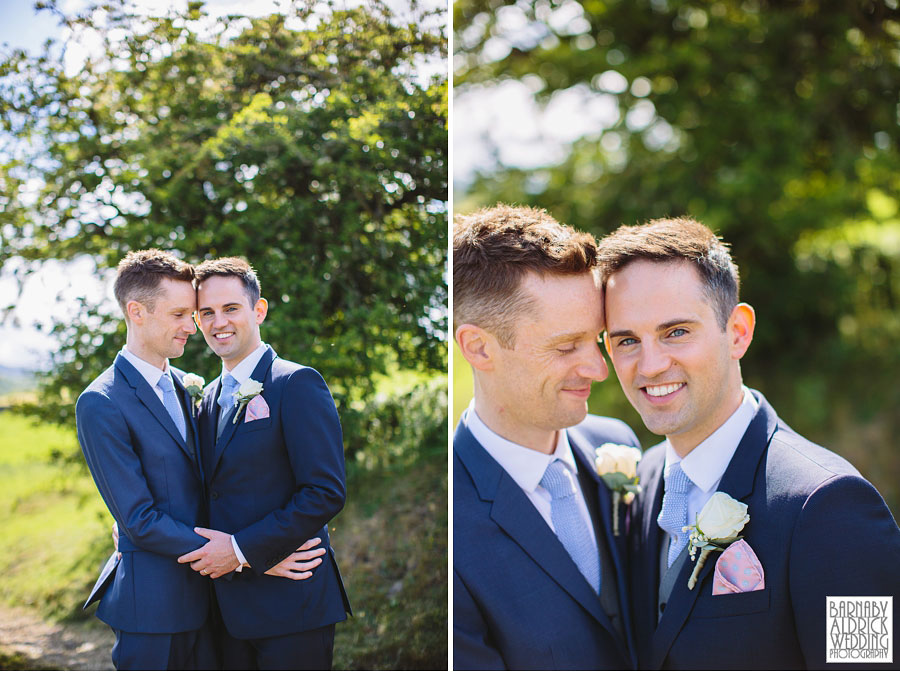 Yorebridge House Gay Wedding Photography by Yorkshire Wedding Photographer Barnaby Aldrick 061