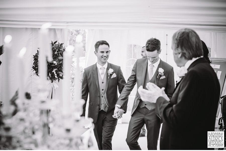 Yorebridge House Gay Wedding Photography by Yorkshire Wedding Photographer Barnaby Aldrick 068