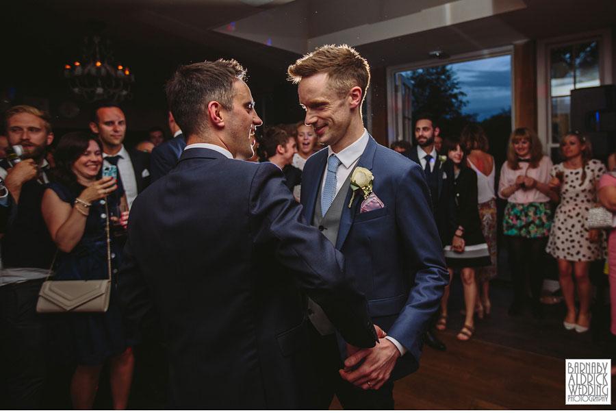 Yorebridge House Gay Wedding Photography by Yorkshire Wedding Photographer Barnaby Aldrick 083