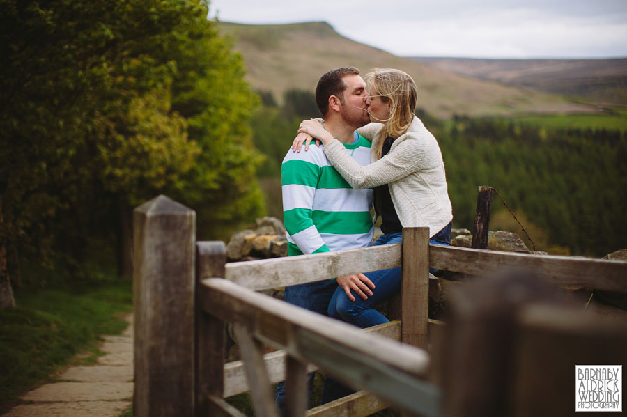 Clay Bank Roseberry Topping Yorkshire  Pre wedding Photography 009