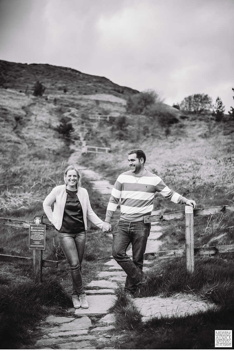 Clay Bank Roseberry Topping Yorkshire  Pre wedding Photography 013