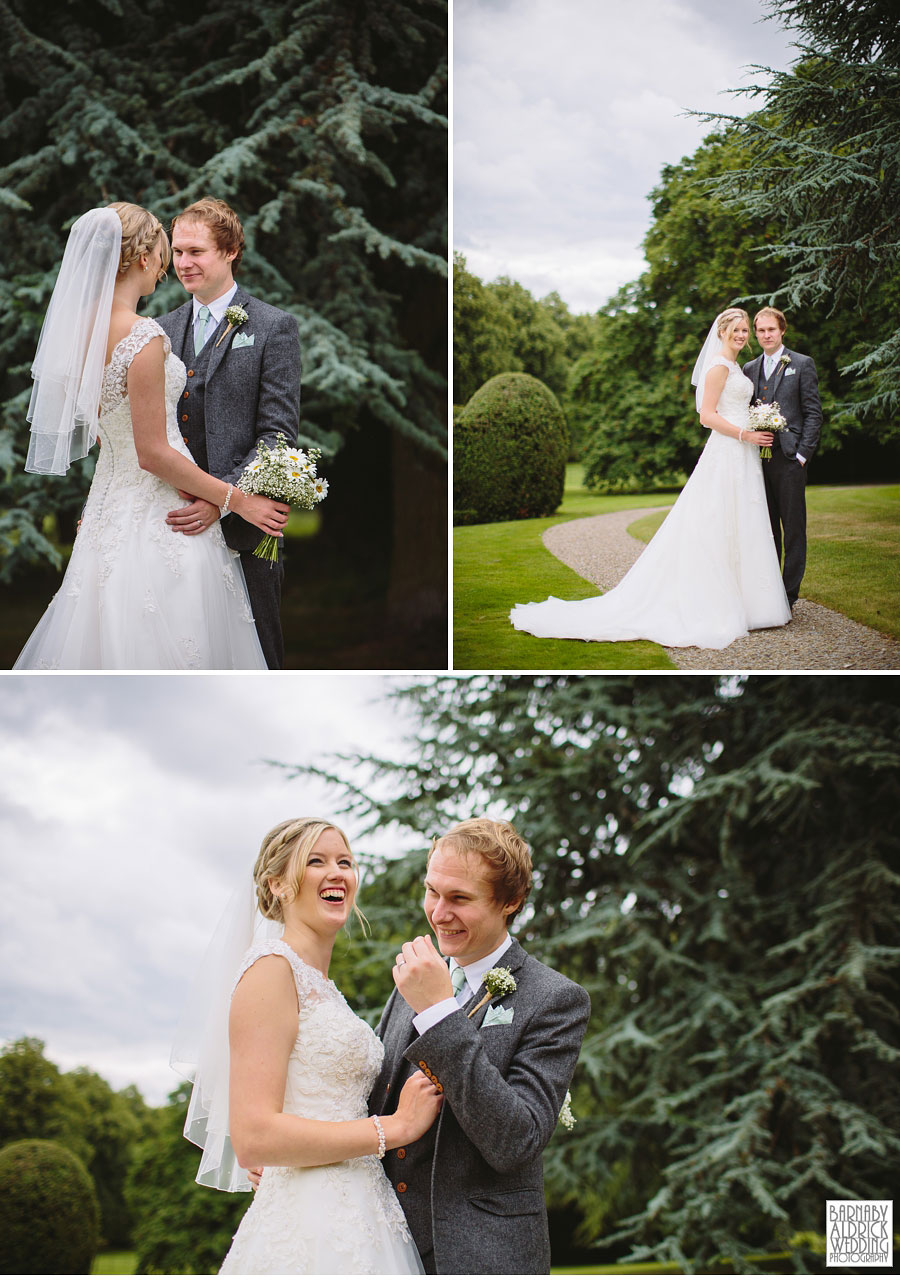 Goldsborough Hall Knaresborough Harrogate Wedding Photography by Yorkshire Wedding Photographer Barnaby Aldrick 042
