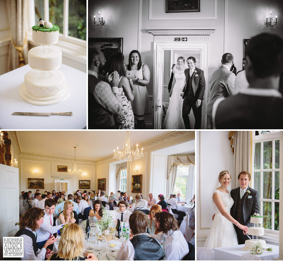 Goldsborough Hall Knaresborough Harrogate Wedding Photography by Yorkshire Wedding Photographer Barnaby Aldrick 048