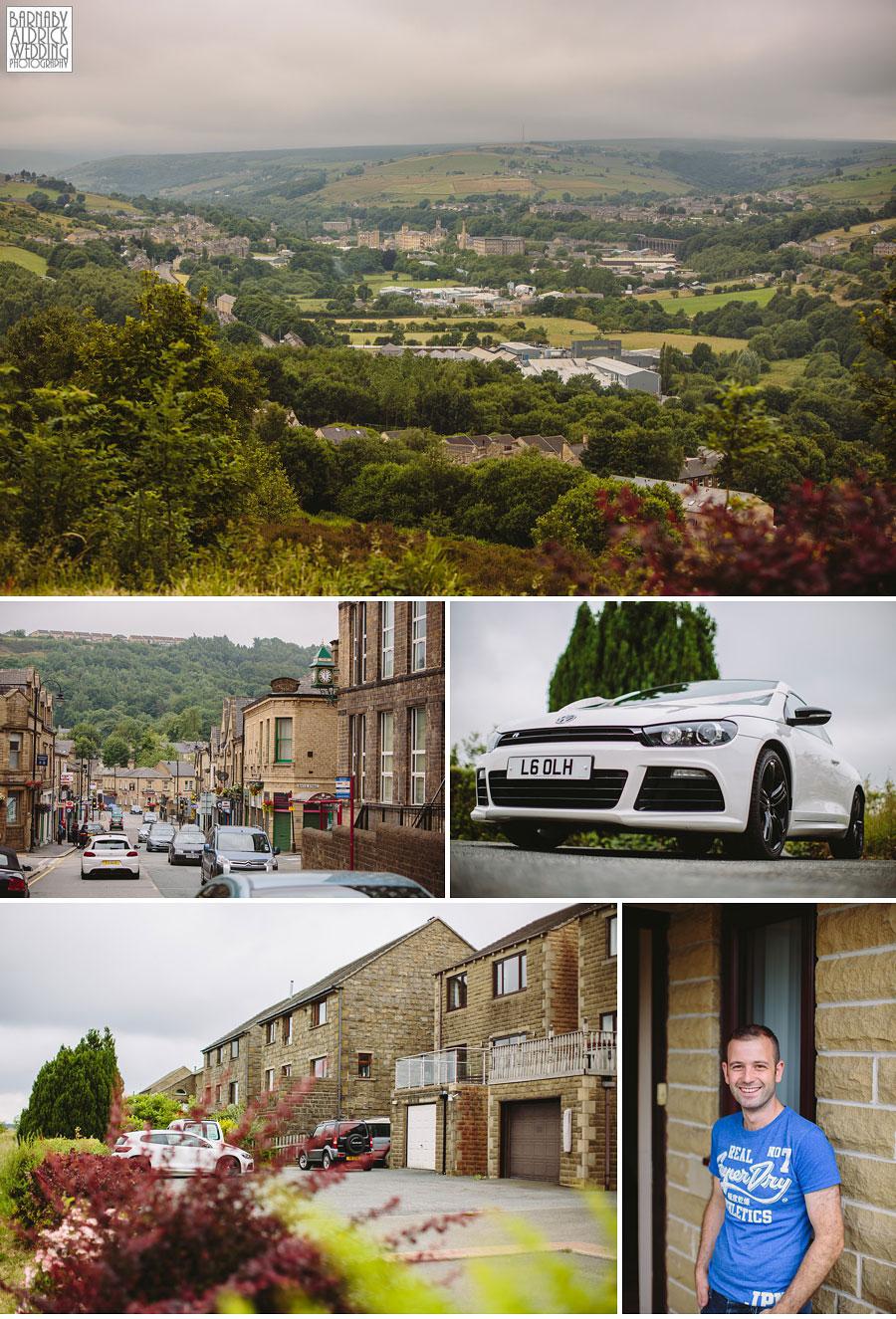 Saddleworth Hotel Wedding Photography near Oldham by Yorkshire and Lancashire Wedding Photographer Barnaby Aldrick 10