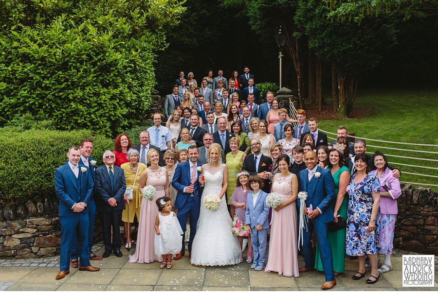 Saddleworth Hotel Wedding Photography near Oldham by Yorkshire and Lancashire Wedding Photographer Barnaby Aldrick 25