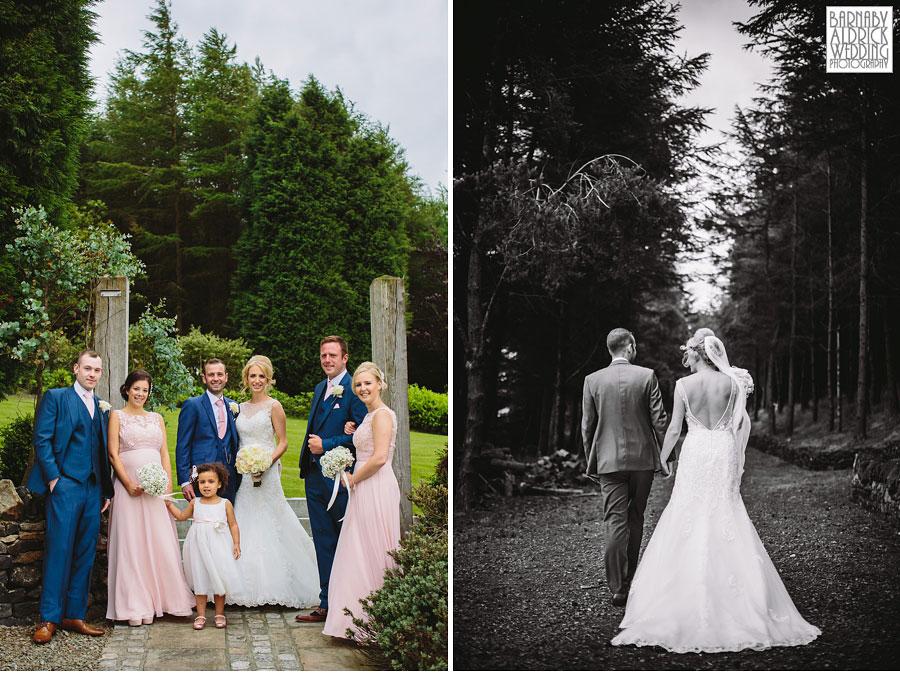 Saddleworth Hotel Wedding Photography near Oldham by Yorkshire and Lancashire Wedding Photographer Barnaby Aldrick 28