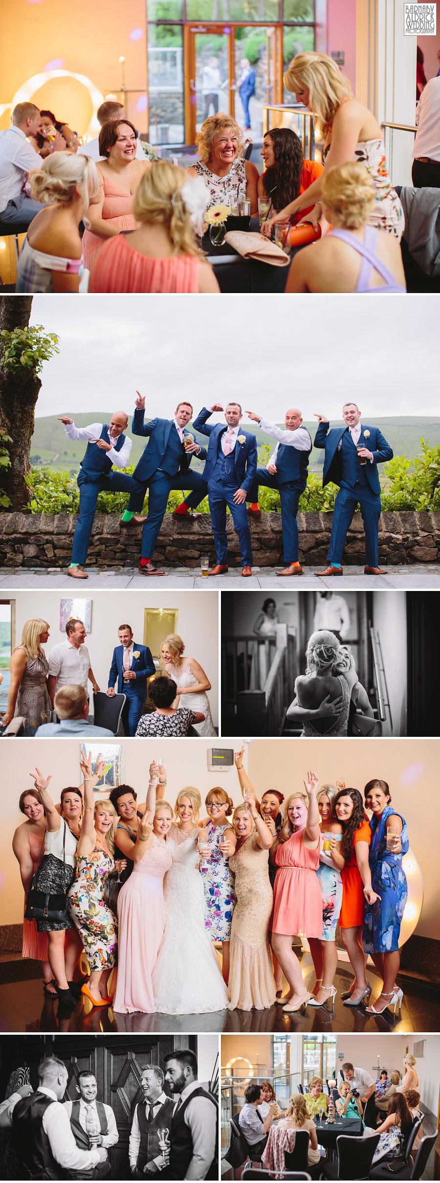 Saddleworth Hotel Wedding Photography near Oldham by Yorkshire and Lancashire Wedding Photographer Barnaby Aldrick 41
